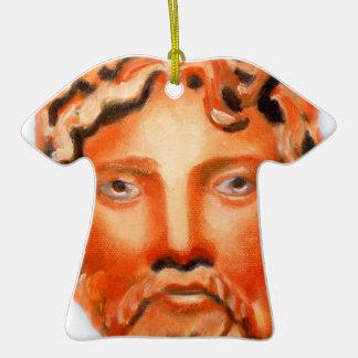 Zeus  - Jupiter Double-Sided T-Shirt Ceramic Christmas Ornament
