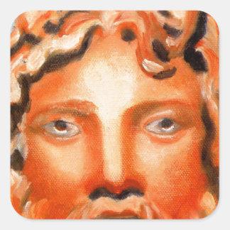 Zeus  - Jupiter Square Sticker