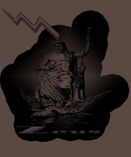 Zeus Lightning Bolt Shirt