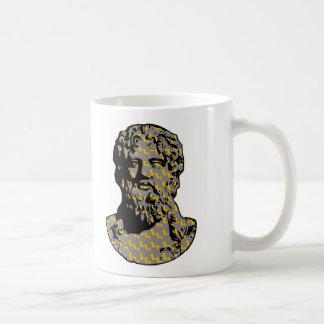 Zeus marble statue mug