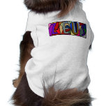 ZEUS ~ PERSONALIZED BGLETTERS ~ PET-WARE FOR DOGS! PET TEE SHIRT