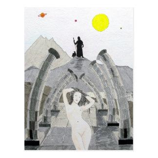 Zeus Ponders Over The Fate of Aphrodite Postcard