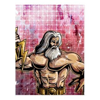 Zeus Postcard