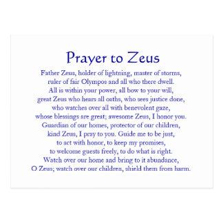 Zeus Postcards