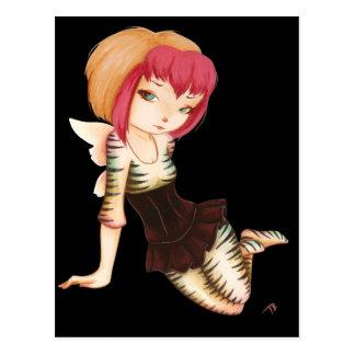 Zevra - arte de hadas del gótico de la fantasía tarjetas postales