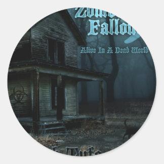 ZF 5 Throwback Classic Round Sticker