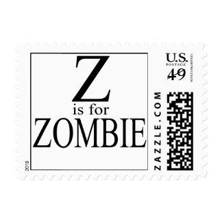 ZforZombie1 Stamp