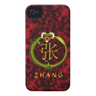 Zhang Monogram Dragon iPhone 4 Case