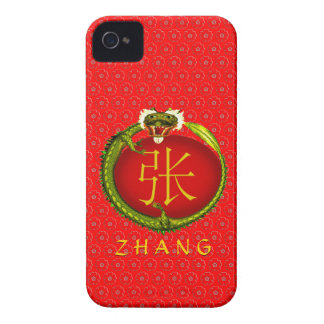 Zhang Monogram Dragon iPhone 4 Case-Mate Case