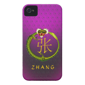 Zhang Monogram Dragon iPhone 4 Covers