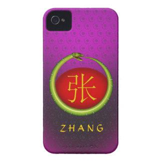 Zhang Monogram Snake Case-Mate iPhone 4 Case