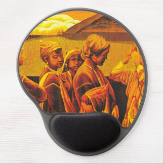 Zhang Xiaochun Dialog In The Dusk chinese art Gel Mouse Pad