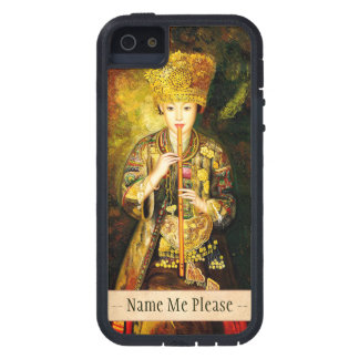 Zhangbo Hmong Culture Girl is Piping chinese lady Case For iPhone SE/5/5s