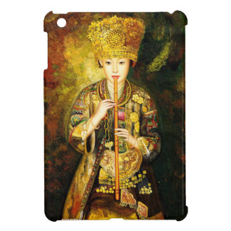 Zhangbo Hmong Culture Girl is Piping chinese lady iPad Mini Cases
