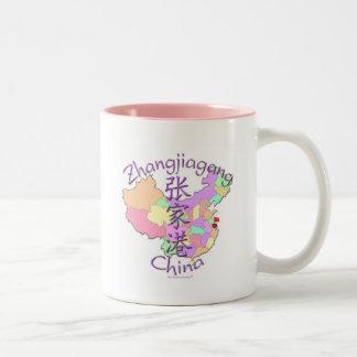 Zhangjiagang China Two-Tone Coffee Mug