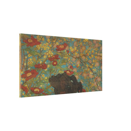 Zhao Chang - Picture of the New Year (Modified) Stretched Canvas Print