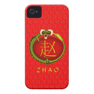 Zhao Monogram Dragon iPhone 4 Case-Mate Cases