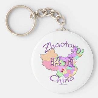 Zhaotong China Llavero Redondo Tipo Pin