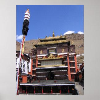 zhashilunbu temple posters