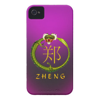Zheng Monogram Dragon Case-Mate iPhone 4 Case