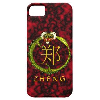 Zheng Monogram Dragon iPhone SE/5/5s Case