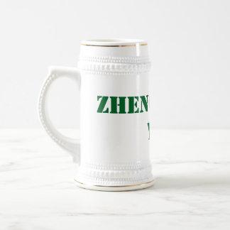 Zheng Shang usted juego de tarjeta Stein Jarra De Cerveza