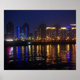 Zhengzhou, Henan Province, Dragon Lake Print