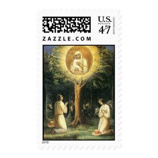 Zhirovitsy icon of Mother of God Stamp