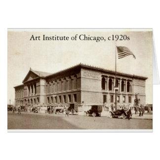 ZHR0038, Art Institute of Chicago, c1920s Card