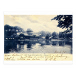 ZHR0039 1907 Vintage Washington Park, Albany Postcard