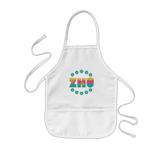 Zhu in Flores Rainbow Kids' Apron