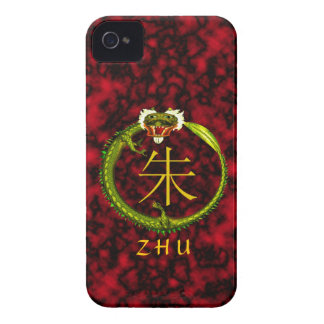 Zhu Monogram Dragon iPhone 4 Covers