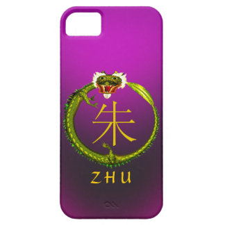 Zhu Monogram Dragon iPhone SE/5/5s Case