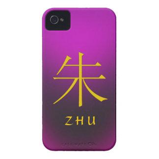 Zhu Monogram iPhone 4 Case