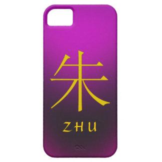 Zhu Monogram iPhone SE/5/5s Case