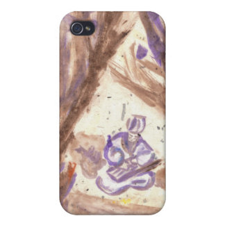Zhuge Liang Plays the Qin iPhone Case iPhone 4 Case
