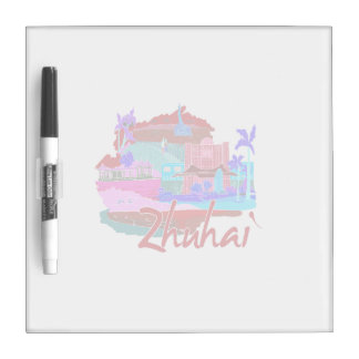 zhuhai city vacation graphic red.png dry erase boards