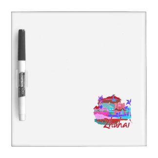 zhuhai city vacation graphic red.png dry erase whiteboards