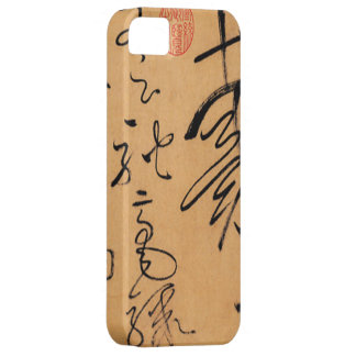 Zi Xu Tie (自叙帖)by Huai Su(怀素) iPhone SE/5/5s Case