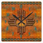 Zia antiguo relojes de pared