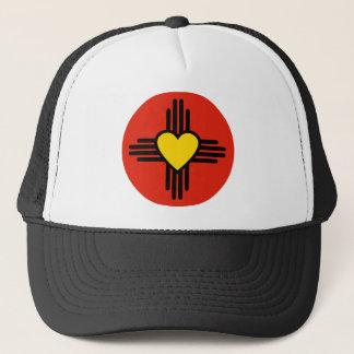 Zia Heart Symbol Trucker Hat