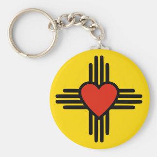 Zia Love Keychain