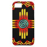 Zia sol - Zia Pueblo New Mexico - iPhone 5 Carcasas