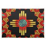 Zia sol - Zia Pueblo New Mexico - Mantel