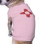 Zia (Sun) Camisetas Mascota