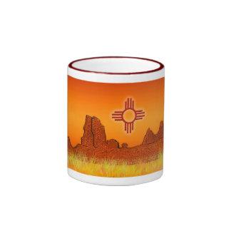 Zia Sun Ringer Coffee Mug
