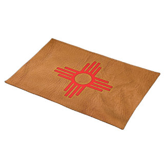 Zia Sun Symbol Cloth Placemat