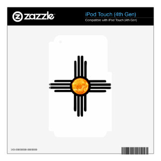Zia Sun Symbol Decals For iPod Touch 4G