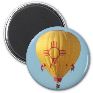 Zia Sun Symbol Hot Air Ballon Magnet
