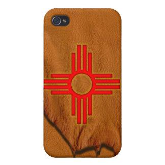 Zia Sun Symbol iPhone 4 Cases